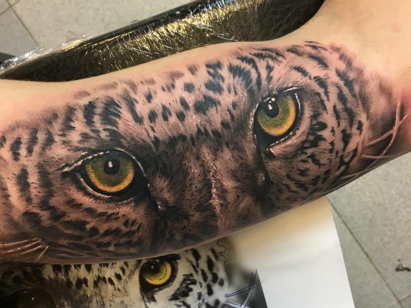 Ojos leopardo
